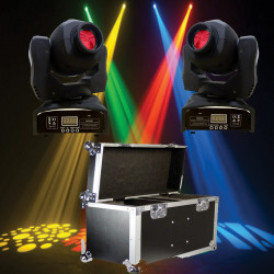 Location Pack 2 lyres led SPOT 60W