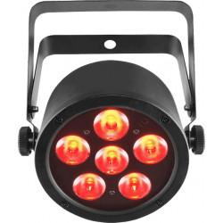 Chauvet EZ - 6 LED RGB de 3W sur batterie - Compatible DFI USB