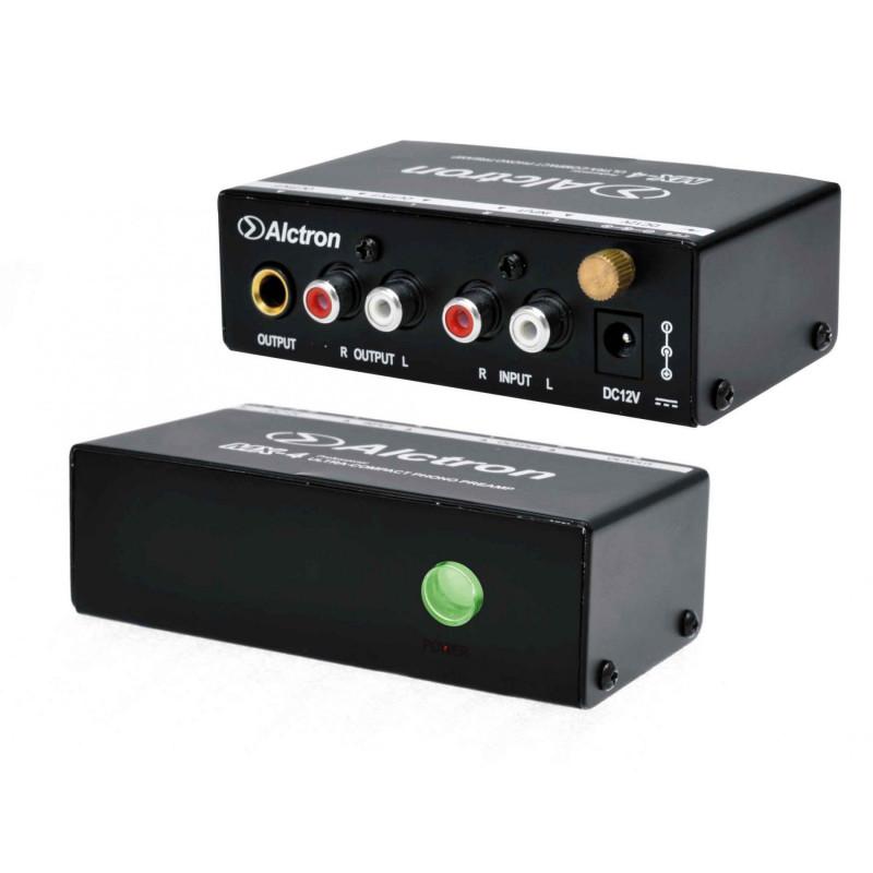 Alctron mx4 al achat vente de pr amp phono pour platine vinyle pour cout - Ampli pour platine vinyle ...
