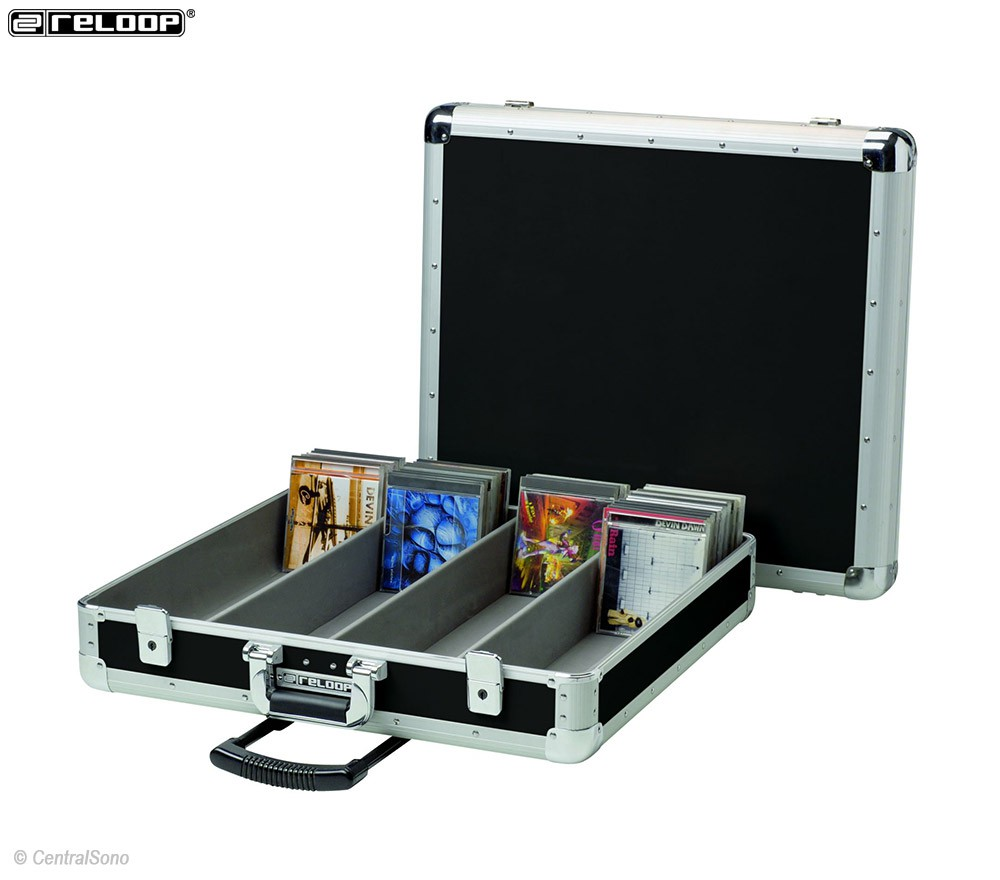 200 CD Case trolley black - rangement 200 CD - Reloop