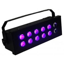 Ibiza STROBE12x3LED-UV - effet lumière noire