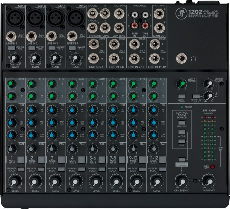 1202-VLZ4 Table de mixage Mackie