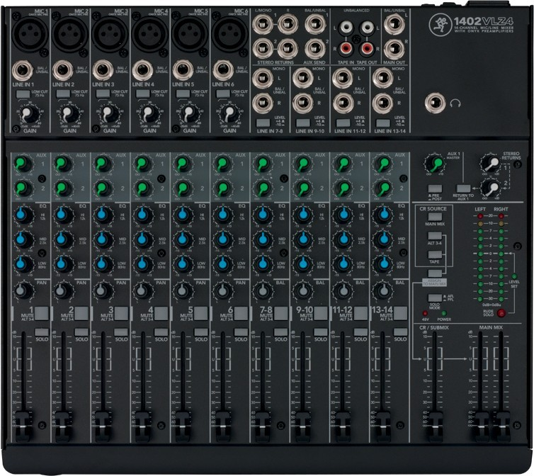 1402-VLZ4 Table de mixage Mackie