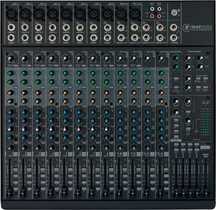 1642-VLZ4 Table de mixage Mackie