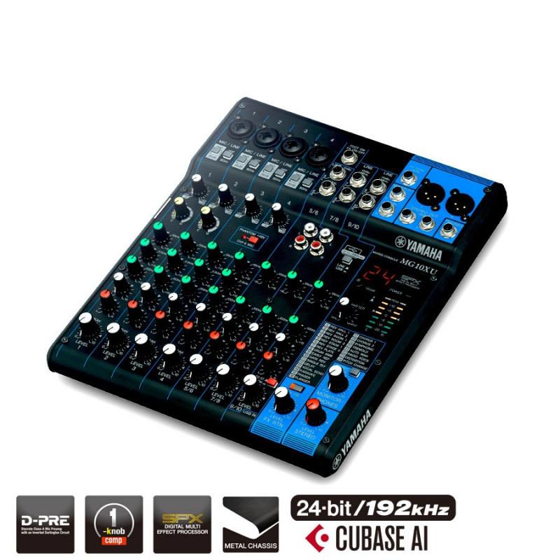 Yamaha mg10xu central sono vente achat de table de for Table de mixage yamaha 6 pistes