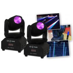 Ibiza Pack 2 x Mini-lyre LMH250