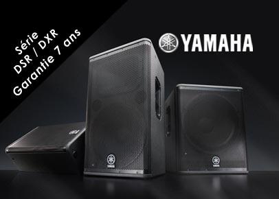 Yamaha Serie DSR DXR Garantie 7 ans