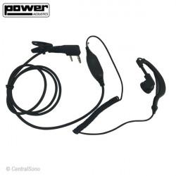 HS06 - Ecouteur microphone pour talkie-walkie