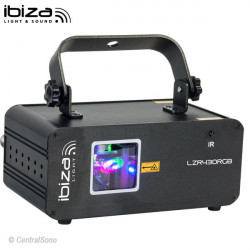 LZR430RGB Effet laser RGB Ibiza Light