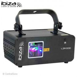 LZR60G Effet laser Vert Ibiza Light