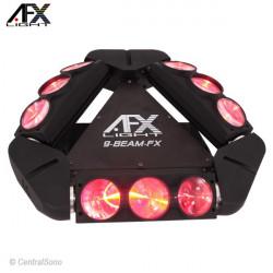 9BEAM-FX Effet spider rotatif Afx