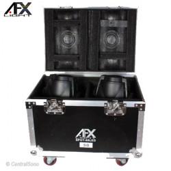 AFX Flightcase pour 2 SPOT60 FL2060