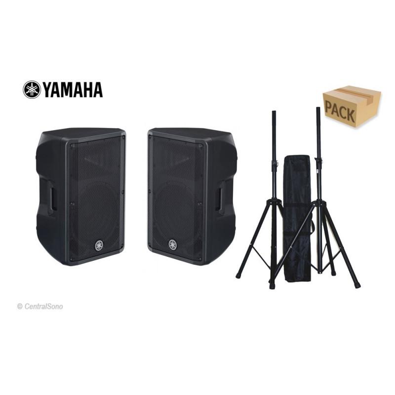 Yamaha Pack 2 DBR 12 + Pieds Garantie 4 ans