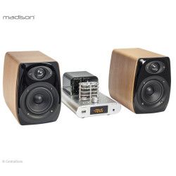 Système audio à tube Madison Vinntage 2x30W RMS