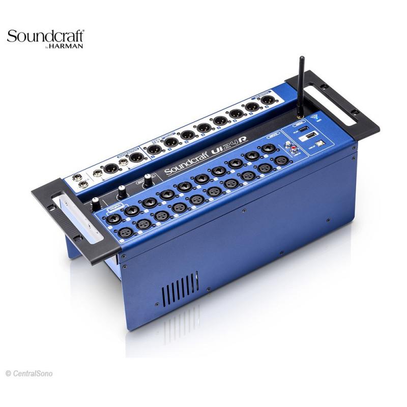 Soundcraft Ui24r Console Numerique De Mixage Et D Enregistrement