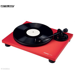 TURN2 RED - Platine vinyle Hifi rouge - Reloop