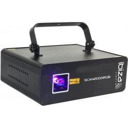 Scan 2000 RGB Ibiza Laser 2000mW RGB