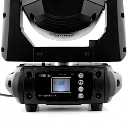 EVO SPOT 60-CR Evolite Lyre 60W à LED Compacte