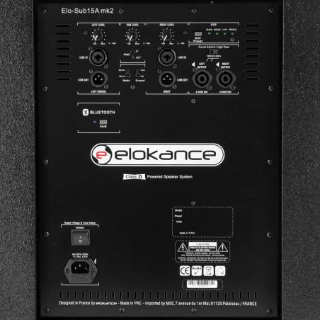 ELO 2500 MK2 Elokance Système Amplifié 2500W