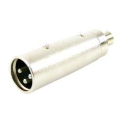 Adaptateur RCA Femelle - XLR Mâle Easy Plugger