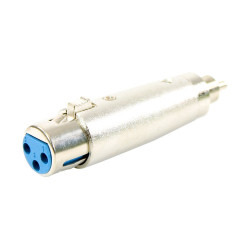 Adaptateur XLR Femelle - RCA Mâle Easy Plugger