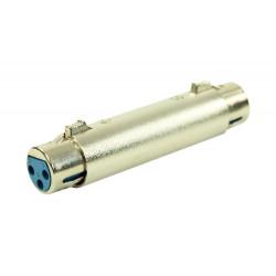 Adaptateur XLR Femelle 3b - XLR Femelle 3b Easy Plugger