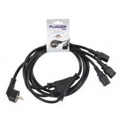 Câble d'alimentation 3 IEC Femelles - PC16, 2m40 Elite Plugger