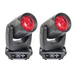 PACK 2 BEAM 100 LED AFX Lyre Beam 100W LED