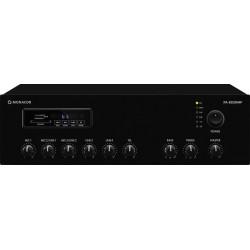 Monacor PA 803 USB - Ampli Ligne 100V + 12V