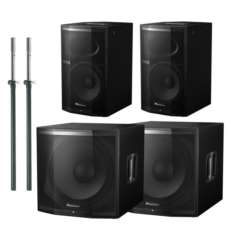 Pack Pioneer XPRS 10 + XPRS 115S 4800W