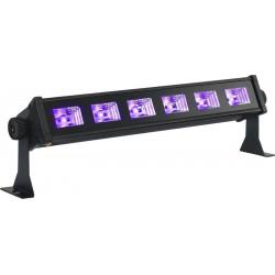 Ibiza LED UVBAR6 - Barre Lumiere Noire 6x3W