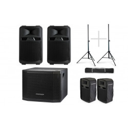 Audiophony Pack VIP 1200W RMS 2 x SR12A + Sub MT12A