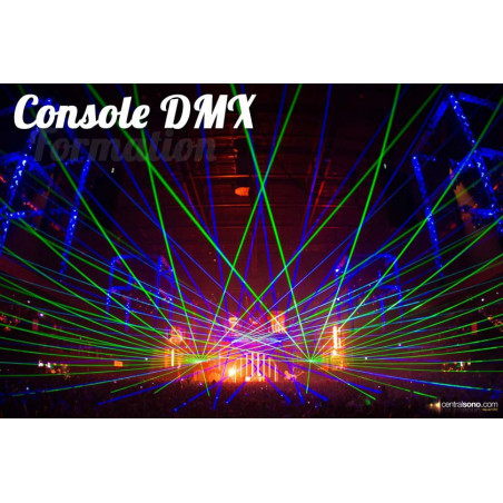Formation DMX sur console