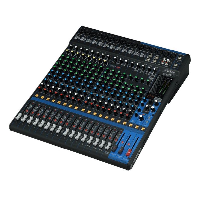 Yamaha mg20 xu table de mixage analogique 20 pistes avec for Table de mixage yamaha 6 pistes