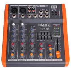 Ibiza MX 401 Table de mixage