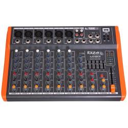 Ibiza MX 801 Table de mixage